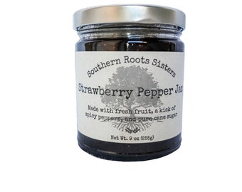 Strawberry Pepper Jam