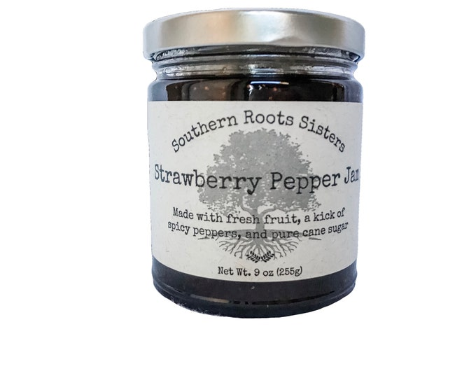 Featured listing image: Strawberry Pepper Jam