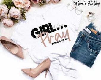 Girl Collection Svg Bundle, Girl Svg Bundle, Girl Heal Svg, Girl Pray Svg, Girl Fight Svg, Girl Be Still Svg, Faith Svg, Girl Tshirt Svg,