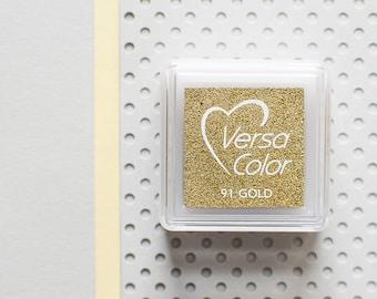 Gold ink pad, gold stamp pad, metallic ink pad, bronze ink pad, gold stamp pad, gold stamp, glitter stamp pad, metallic stamp pad