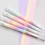 Rainbow gel pens, pastel gel pens, rainbow pens, neopasteln pens, gel pens multicolor