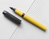 Ink pen, Kaweco Fountain Pen, Kaweco Perkeo Indian Summer, yellow pen, Fountain Pens, Kaweco fountain pen, Fountain pen, Gift Idea Mom