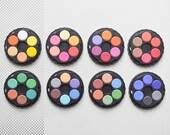 Watercolors Wheel Stack, Set Watercolours, stackable 8 tier set, travel water colors, Koh-i-noor Watercolors Paint Box