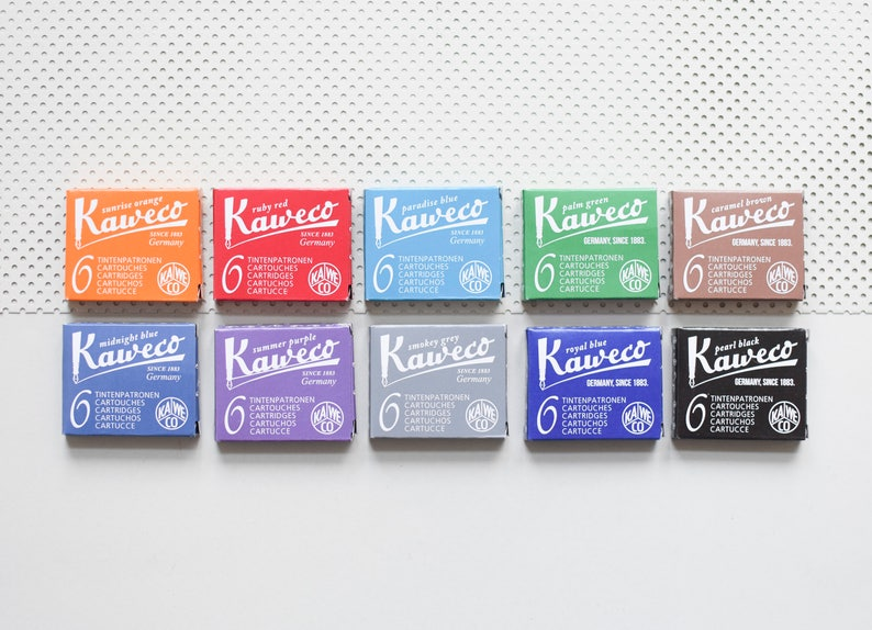 Kaweco Sport Frosted Fountain pen orange Soft Mandarin