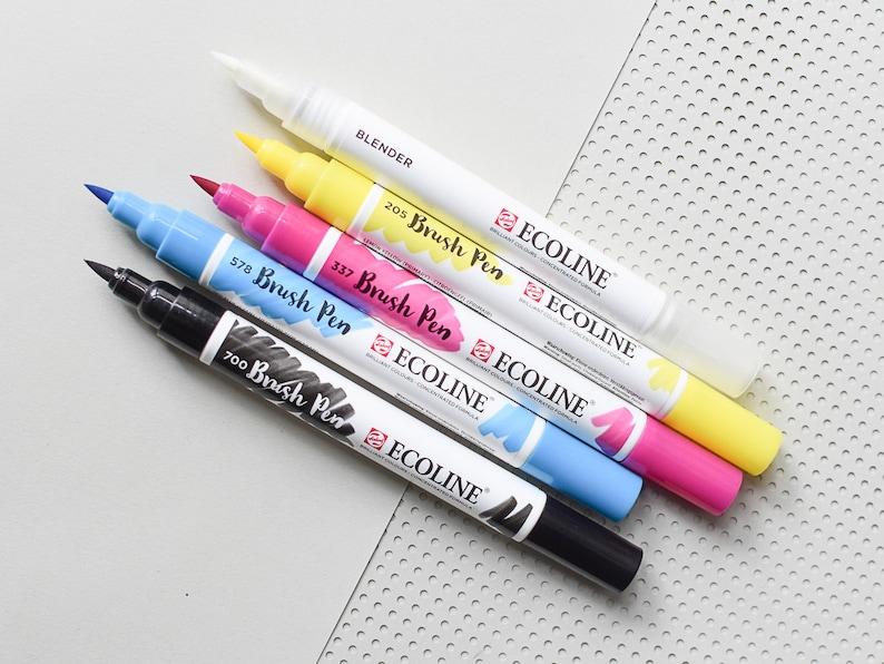 Ecoline Brush Pens Ecoline Ecoline Pens Watercolor Pens image 0