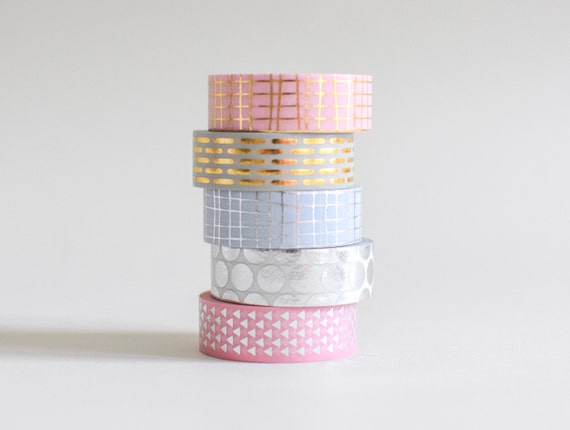 Metallic Washi-Tape | 10 Meter Rolle