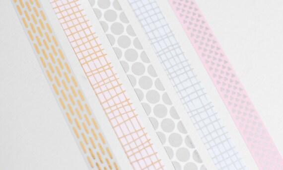 Metallic Washi-Tape |10 Meter Rolle