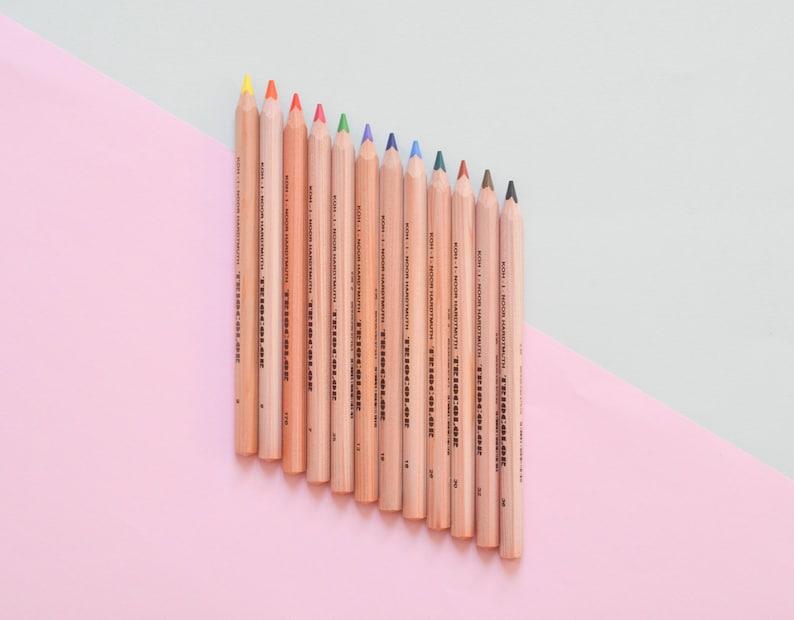 Colored pencils color pencils pencils for kids pencils set image 0
