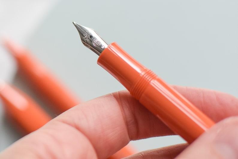 Rollerball Pen Ball Pen Kaweco Sport Skyline Fox Burnt Orange Fountain Pen