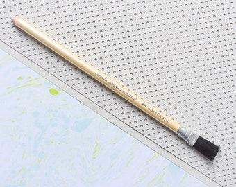 Eraser pencil, eraser pen, Perfection 7058 B, Faber Castell, Perfection, brush eraser pencil, eraser pencil with brush