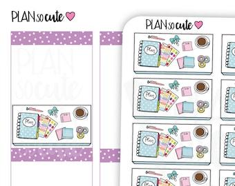 Planning Desk Stickers, Planner Stickers, Planner Stickers -026