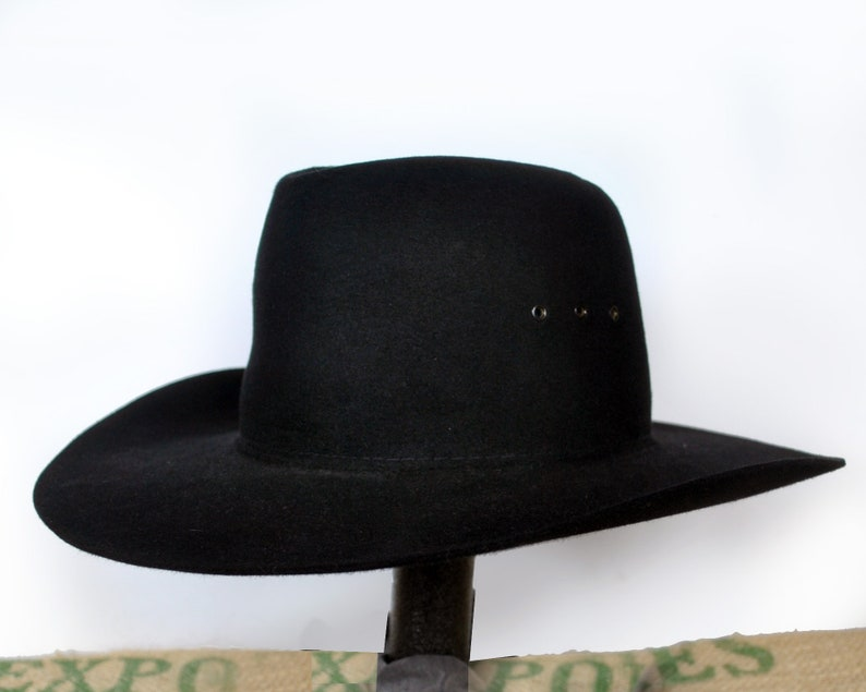 Black Akubra  Longhorn  Hat Made for RM Williams  f141169c15d