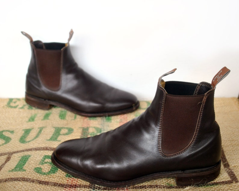 a211ea9d2fcac Brown R.M. Williams Boots - Original Made in Australia – 90s vintage  Comfort Craftsman Size RMW 10.5 H usM 11.5 usL 13 EU 45