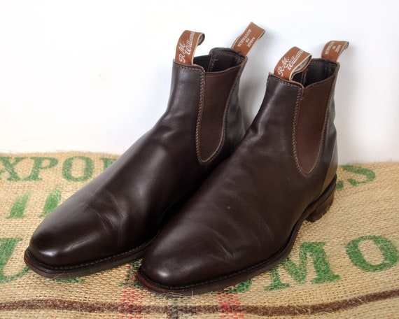 bc189f54abb6c Brown R.M. Williams Boots - Original Made in Australia – 90s vintage  Comfort Craftsman Size RMW 9.5G usM 10.5 usL 12 EU 44