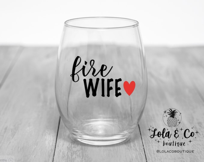 Fire Wife | Firefighter | Firefighter Wife | Red Blue Line | Fireman | Fire woman | TRL