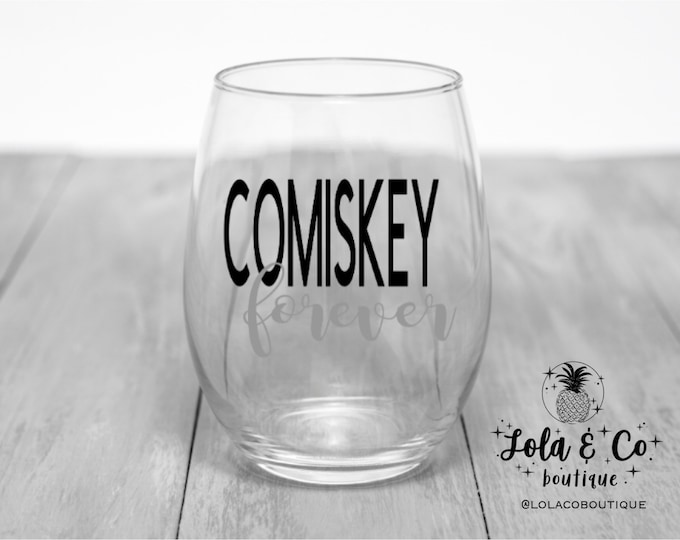 Comiskey Forever | Chicago White Sox | Wine Glasses