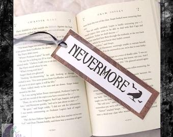 Nevermore Bookmark    Edgar Allen Poe