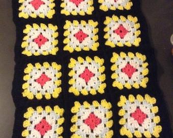 Crochet dolls quilt