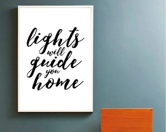 Coldplay poster | Etsy