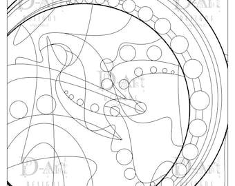 String Of Pearls Coloring Page