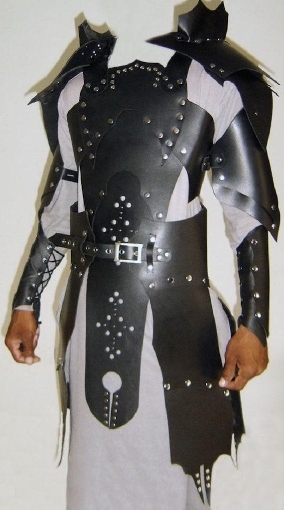 Cow Leather Women Corset Armor LARP SCA Armour Halloween costume GAME OF THRONES