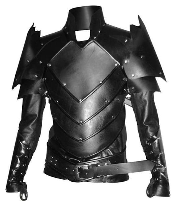 2e56ffa31854 Real leather medieval Fantasy Dragon Age Fenris style armour | Etsy