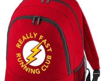 Really Fast Running Club - Superhero inspired Backpack BPK1049