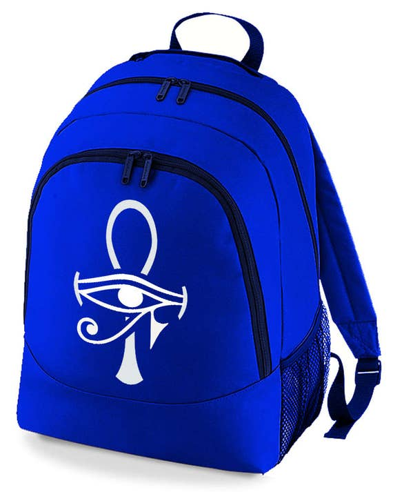 EGYPTIAN ANKH CROSS Graphic unisex backpack rucksack bag from FatCuckoo
