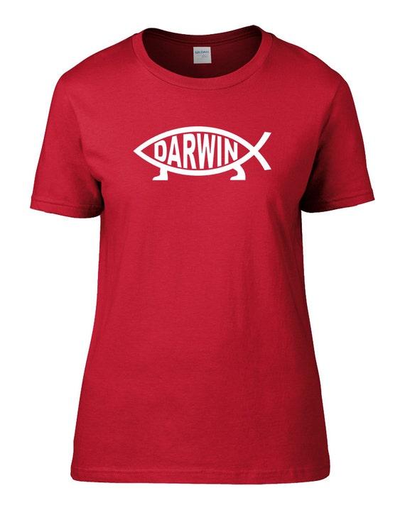 Darwin Fish Ichthys Symbol Of Evolution Spoof Parody Etsy