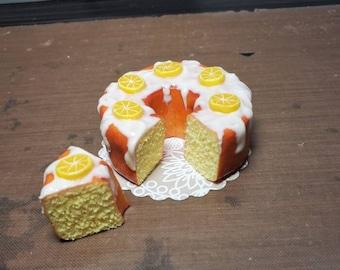 1:6 scale Barbie Lemon pound cake