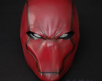 The Red Hood Rebirth Helmet Mask Jason Todd Halloween Costume Cosplay Gift Present Suit Movie Game Comic Prop #525
