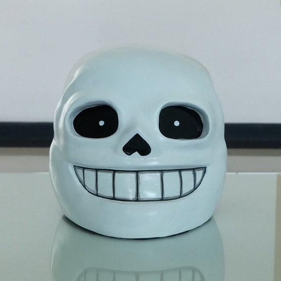 Undertale Sans Helmet Mask 1 1 Scale Wearable Halloween Etsy