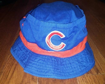 c8785551a70 Vintage Chicago Cubs floppy hat