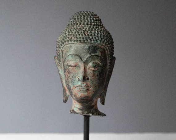 Buddha head, Thailand, 19th/20th c