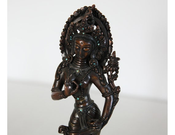Goddess Tara Buddhist statue - Nepal
