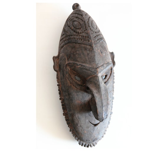 Ancestor Mask from the North coast of Lower Sepik River, Papua New Guinea