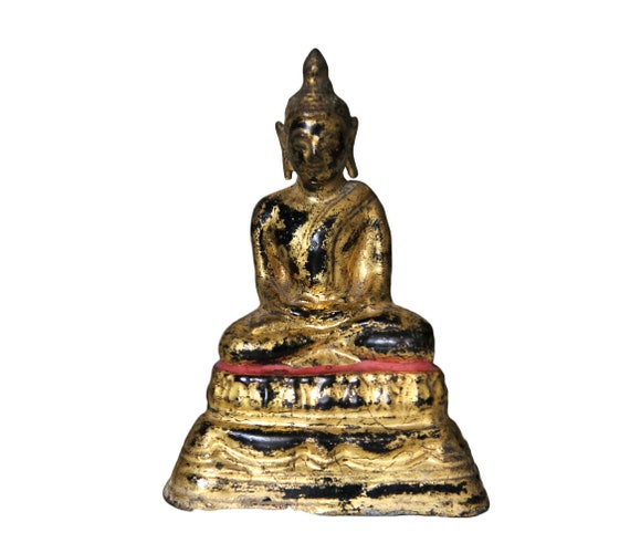 Small Bronze Buddha Rattanakosin - Thailand - 20th century