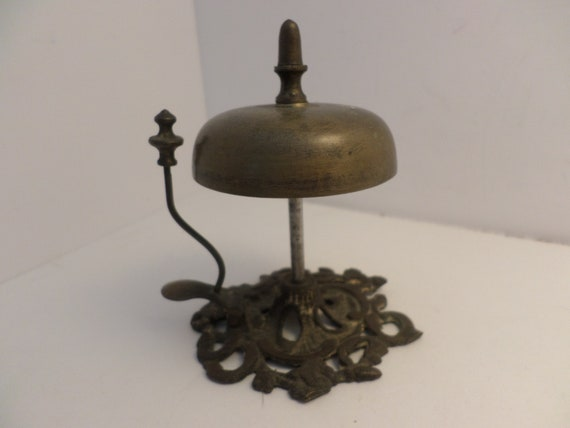image 0 - Antique 1900's Hotel Desk Bell Beautiful Ding Etsy