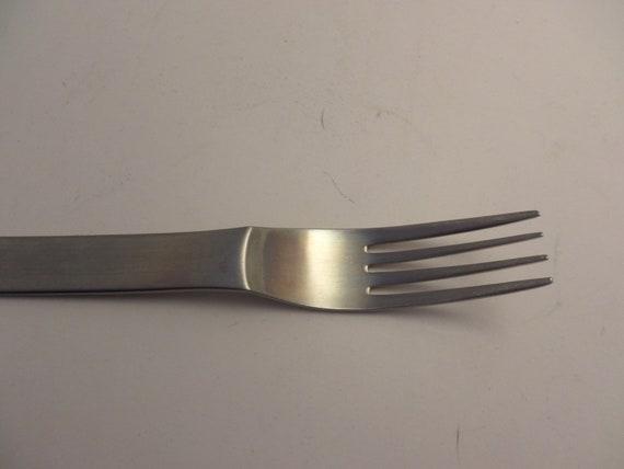 MODERNIST mid-Century Modern dinner fork The main course stainless steel