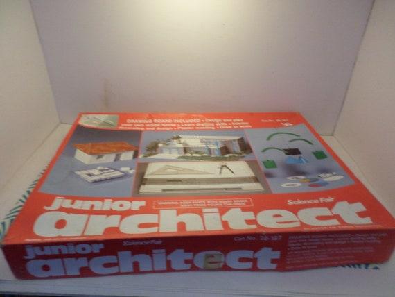 Vintage 90's Junior Architect kit Science Fair