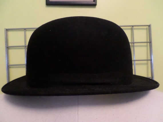 Vintage Art Deco Derby hat All That Jazz style Elkbrand xquality