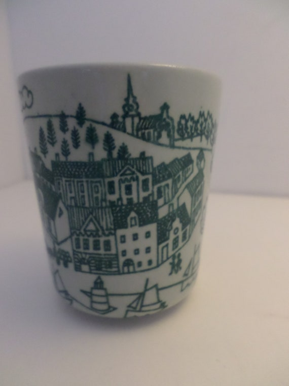 "Darling 2"" cup Nymolle Art Fience Hoyrup Made in Denmark LIm Ed 4006"
