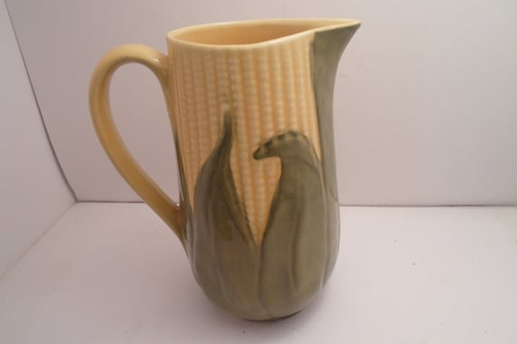 Shawnee USA Pottery Corn King Pitcher #71 Tall Absolutely Stunning Condition for your Farm To Table Cottage Chic