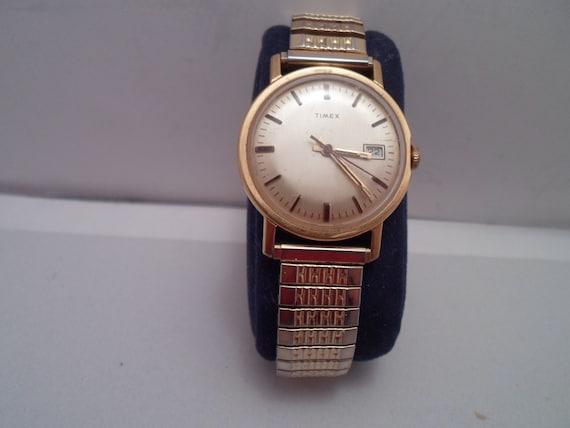 Vintage Timex Date Men's Watch Working Condition 1960's As Found
