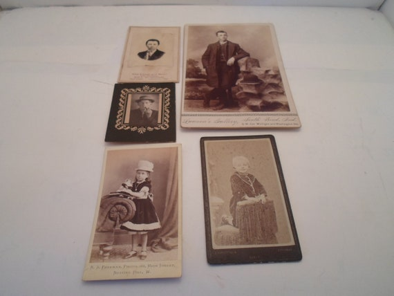 Antique Vintage Victorian Photos 1900's Great Poses Ohio Indiana photographer studios