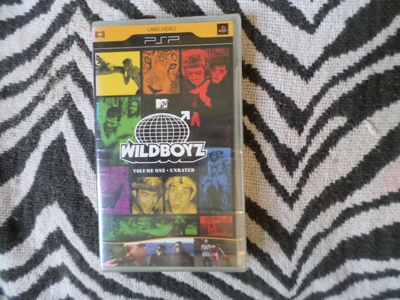 sealed '04 WILDBOYZ M tv PSP playstation UMD video Jackass, Knoxville