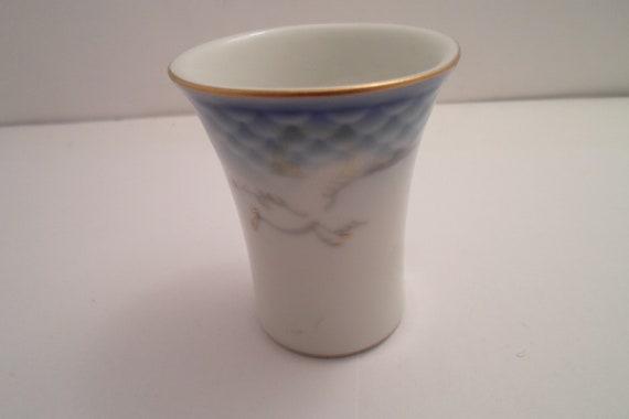 Vintage Bing & Grondahl Seagull mini Vase or Toothpick Holder Beautiful Birds Sky Sea Cottage Chic Mid Century Cool Pen holder