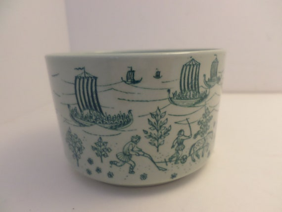 "Darling 2""x3.5"" low cup Nymolle Hoyrup Denmark Limited Edition"