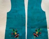 Vintage Original quot 1940 39 s quot Mexican Souvenir Jacket Pattern Project Size Small