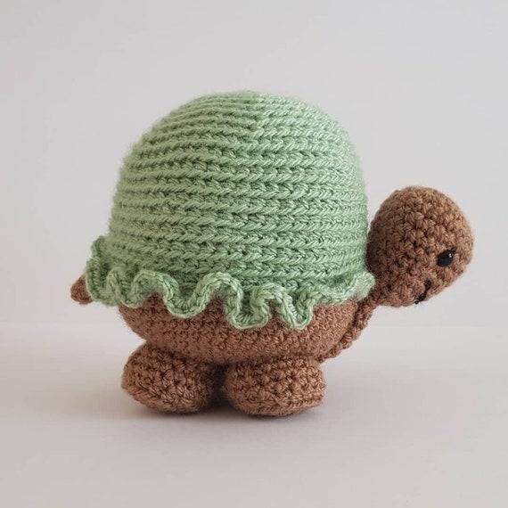 Häkeln Sie Amigurumi Häkeln Schildkröte Häkeln Spielzeug Etsy